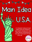 Integrated Main Idea & USA Symbols Pack