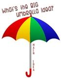 Main Idea (Umbrella Idea) Anchor Chart