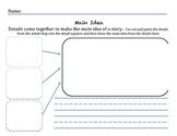 Main Idea: Using details to determine main idea