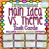 Main Idea Theme Task Cards