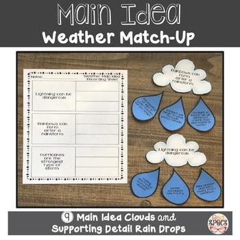 Main Idea: Weather Match-Up!