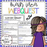 Main Idea and Details WebQuest