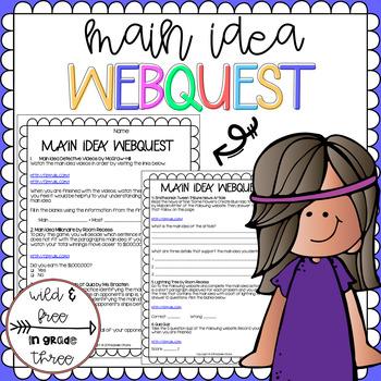 6th Grade Reading Webquests Teachers Pay Teachers