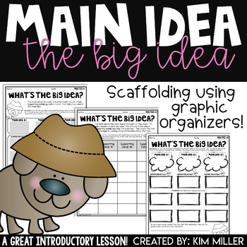 Finding the Main Idea Practice: Activities Using Graphic Organizers
