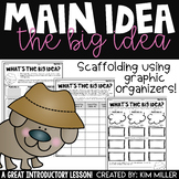 Main Idea Worksheets | Activities Using Graphic Organizers