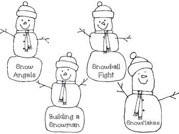 Main Idea Winter Wonderland