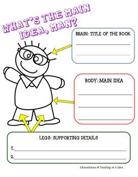 Main Idea Worksheet {Printable!}