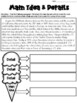 Main Idea Worksheets with graphic organizers