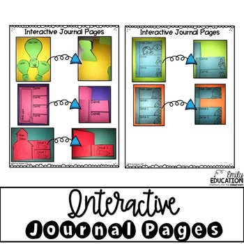 Main Idea - Worksheets, Interactive Journal Pages, Graphic Organizers