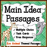 Main Idea and Supporting Details Passages For Third Grade