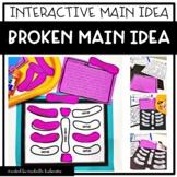 Main Idea activity | Broken Main Idea