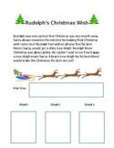 Main Idea and Three Details *Rudolph's Christmas Wish*