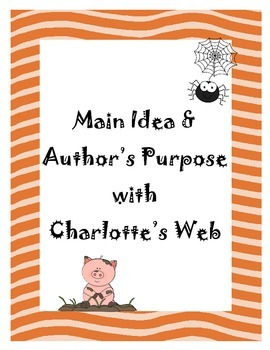 Main Idea and Author's Purpose
