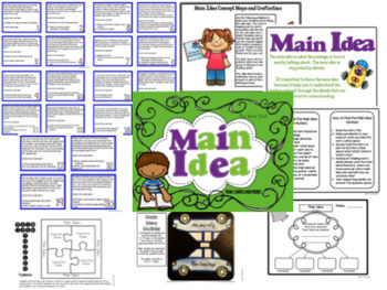 Main Idea and Author's Purpose Bundle
