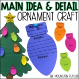 Main Idea and Detail Christmas Crafts