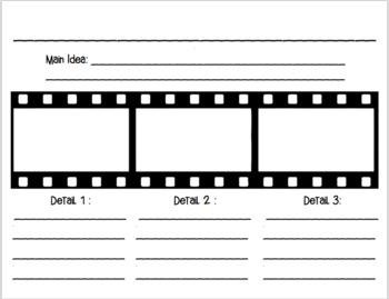 Main Idea and Detail Film Strip