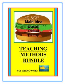 Main Idea and Detail  Teaching Methods Bundle