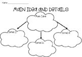 Main Idea and Detail Worksheets