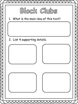 Reading Comprehension:Main Idea and Details