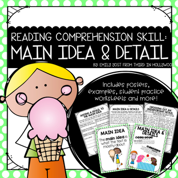 Main Idea and Details {Reading Comprehension Skill}