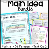 Main Idea and Details Activities - Non Fiction, Fiction, Task Cards +