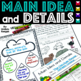 Main Idea and Details Passages and Activities