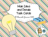 Main Idea and Details Activity Cards