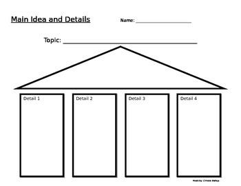 Main Idea and Details Building