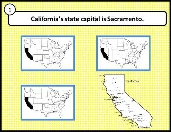 Main Idea and Details: CALIFORNIA {Common Core aligned}