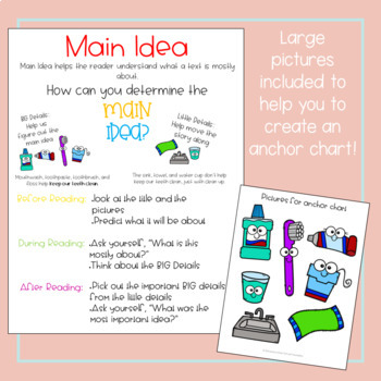 Main Idea and Details - Differentiated Card Sort Activity with Digital Copy!
