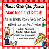 Main Idea and Details Pizzeria, Room Transformation Main Idea Pizza Centers