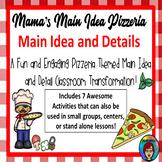 Main Idea and Details Pizzeria Room Transformation Main Idea Reading Practice
