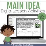 Main Idea and Details Digital Activities in Google Slides™ and Seesaw™