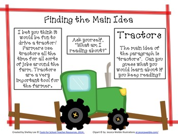 Reading Comprehension for Main Idea and Details