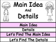 Main Idea and Details Flip Book
