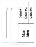 Main Idea and Details Foldable FREEBIE!