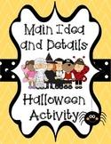Main Idea and Details Halloween Craft Activity