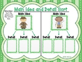 Main Idea and Details Literacy Centers