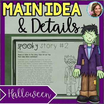 Main Idea and Supporting Details | Main Idea Passages | Halloween