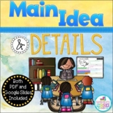 Main Idea and Details ~ NO PREP - Distance Learning