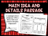 Main Idea and Details Non-Fiction Passage and Graphic Organizer