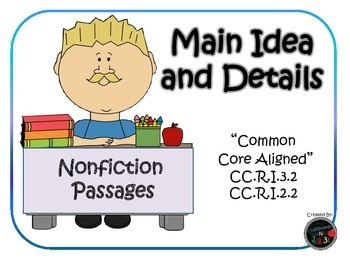 Main Idea and Details (Nonfiction)