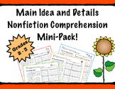 Main Idea and Details Nonfiction PRACTICE & PROGRESS MONITORING