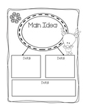 Main Idea and Details Organizer: Part of Close Reading Pack