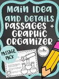 Main Idea and Details Passage Pack