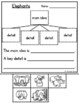 Main Idea and Details Passages & Graphic Organizers