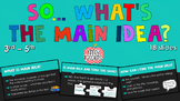 Main Idea and Details PowerPoint