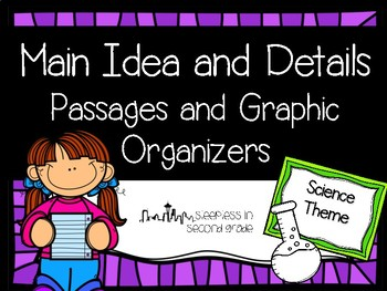 Main Idea and Details Science Passage
