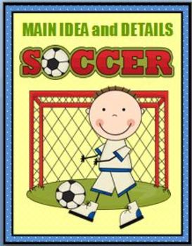 Main Idea and Details Soccer