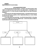 Main Idea and Details Story w/Graphic Organizer